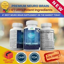 Brain Booster Supplement Pills that Boosts Focus and Memory Function Mind