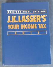 J.K. LASSER'S YOUR INCOME TAX 2013 PROFESSIONAL EDITION HC Book Lasser