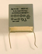 2.2uF 275V AC Arcotronics MKP Class X2 Capacitor - 10 Pieces