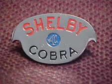 AC Cobra Shelby Medallion