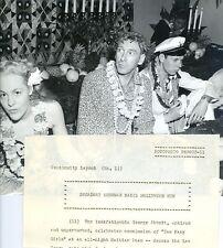 GEORGE ABBOTT HAITIAN LUAU TOO MANY GIRLS ORIGINAL 1940 RKO MOVIE PHOTO