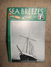 Sea Breezes ~ The Ship Lovers' Digest No 94 Vol 16 October 1953 ILLUSTRATED