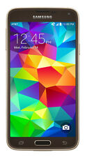 Samsung Galaxy S5 G900a 4g Unlocked Android Smartphone 16gb 16.0mp - Luxury Gold