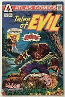 Tales of Evil #1 VF+ 8.5 WP Horror Comic - Bronze Age 1975 Atlas Seaboard
