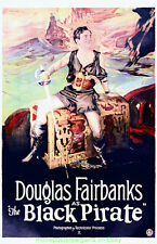 THE BLACK PIRATE MOVIE POSTER 11x17 Inch With Plastic Holder DOUGLAS FAIRBANKS
