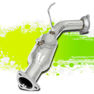 FOR 02-05 HONDA CIVIC SI EP3 STAINLESS STEEL STRAIGHT CAT EXHAUST PIPE/DOWNPIPE