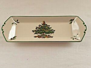 Spode Christmas Tree Mint Tray Plate