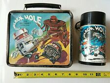 The Black Hole Metal Lunchbox and Thermos Disney Productions 1979 Aladdin HS