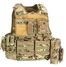 Gilet Tattico Body Armour Carrier Vest BAV06 Defcon 5 Multicam BAV 06 DEFCON5