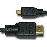 AMZER High Speed Micro HDMI Male to Standard HDMI Male Cable 10 Feet