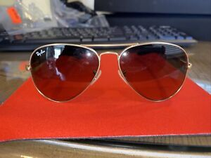 Ray-Ban Aviator Sunglasses RB8307 112/85 58/14 2n NO CASE