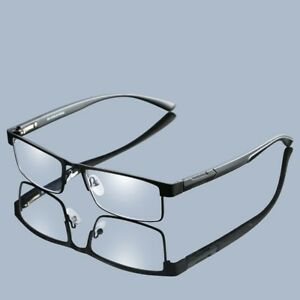 Reading Glasses Men Titanium Alloy Classic Style Eyeglasses Reader Spectacles