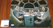 Kathleen Kennedy & J.J. Abrams Signed 11x14 Star Wars The Force Awakens PSA/DNA