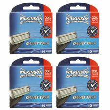 40 Wilkinson Sword Quattro Plus 4 x 10 Klingen Ersatzklingen NEU OVP