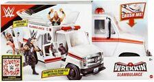 WWE Mattel Wrekkin' Slambulance Ambulance Playset