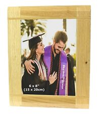 """6x8 """" Solid Wood Oak Wooden Picture Photo Frame 8x6 Mothers Day Mum Granny Gifts"""