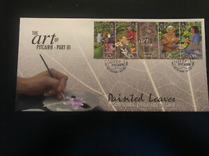 Pitcairn Islands 2003, FDC, Art Of Pitcairn Part III, Excellent Condition