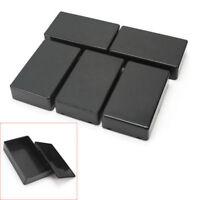 New 5PCS Plastic Electronic Project Box Enclosure Instrument Case 100x60x25mm JS