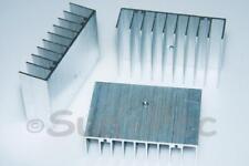 Aluminum Radiator Heatsink Heat Sink Cooler 75x50x21mm 2pcs for Chip LED CPU