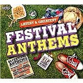 Various - Latest & Greatest Festival Anthems (2014)  3CD Box Set NEW  SPEEDYPOST