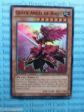 Queen Angel of Roses LVAL-EN092 Super Rare Yu-gi-oh Card Mint 1st Edition New