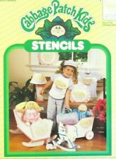 Born In The Cabbage Patch Kids Stencil Sheets 26601 Unopened 1984 Vintage Decor