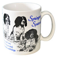 Springer Spaniel - Ceramic Coffee Mug - Dog Origins Breed