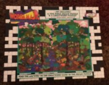 Sealed Ceaco WordamaJig 200 Piece Puzzle And 4 Crossword Puzzles