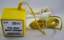 Nikko 4 Hour Quick Charger 1274 8.7v adapter RC Cars NICAD Battery Fast THAILAND