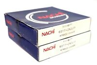 2 NEW NACHI 6017-2NSL BALL BEARING 60172NSL