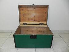 grüne Truhe Kiste Holztruhe Box Schatzkiste Dekokiste Aufbewahrung