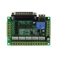 1pcs 5 Axis CNC Breakout Board  For Stepper Motor Driver Controller mach3