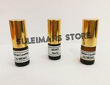 3 Perfumes MEMO Paris - African Leather, Italian Leather, Marfa - 2ml roll on!