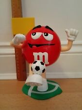 M&M Red Soccer Player with Ball & Flag - Big Candy Dispenser Figure 20cm