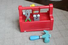 Mattel Disney Handy Manny Talking Singing Toolbox Tool Box Pat the Hammer