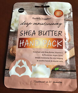 Deep Moisturising Shea Butter Hand Pack /Mask - Enriched with Vitamin E