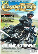 Classic Bike May 2004 Triumph Trident Honda 305 Enfield Bullet 750 Norton BMW