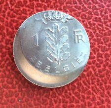 Belgique - Très Rare et Spectaculaire 1 franc 1976 VL fautée - Casquette