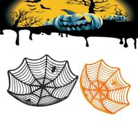 Halloween Candy Basket Spider Web Bowl Spider Fruits Web Party Decor 2019