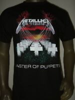 New Men's S-XL Metallica Master Of Puppets Grave Stone Cross Metal Band T- Shirt