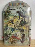 WORKS RARE 1960s Vintage Marx Toys Prehistoric Dinosaur Pinball G-86 Toy Game