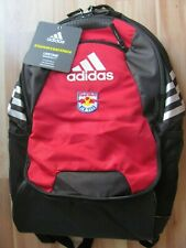 Incomplete New York Red Bulls logo adidas Climaproof Stadium II Backpack Soccer