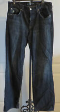 Mens 7 Seven for All Mankind Relaxed Button Fly Distressed Jeans 32W X 34L