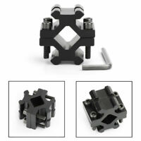 Barrel Clamp On to Picatinny Weaver Rail Mount Adapter Fit For Bipod