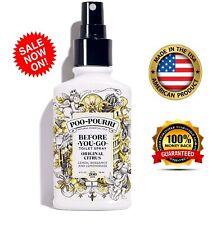 Poo-Pourri Before-You-Go Toilet Spray Original Citrus Scent Combats strong odors