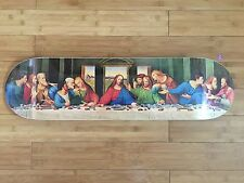 The Last Supper Skate Deck DaVinci New Box Jesus Christ Reigns Supreme INRI Logo