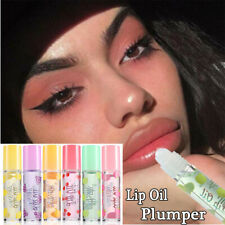 1 Pc Long Lasting Moisturizing Nutritious Shiny Lip Plumper Oil Fruit Lip Gloss