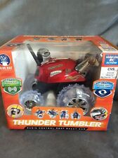 THUNDER TUMBLER RED RADIO CONTROL 360 RALLY CAR FOR AGES 6+ - NEW IN BOX