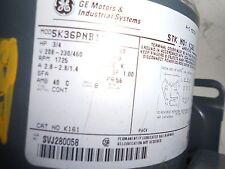 GE Motors K161  5K36PNB1  208-230/460  1725rpm  .75hp  60hz  3PH