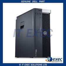 Dell Precision T5610 Dual Xeon E5-2609V2, 64GB RAM NVS 315 240SSD Hdd Win 10 Pro